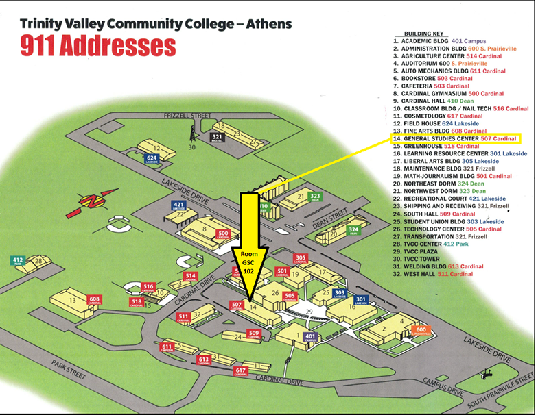 Athens Campus Map.Maps