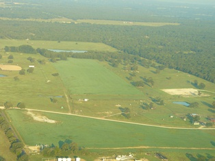 Aerial picture of TVCC Ranch